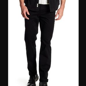 Joe's Jeans Black Brixton Twill Pants
